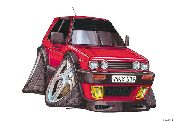 Volkswagen Golf Rouge