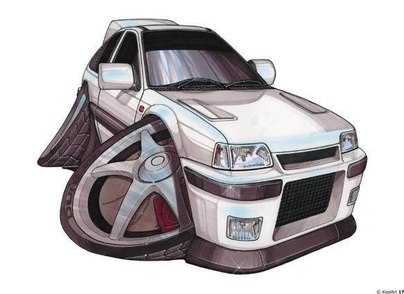 Opel Kadett Grise