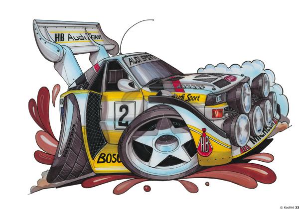 Audi Quattro S1 Sport Rally