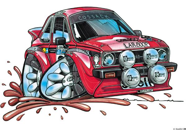 Ford Escort Sport Rouge