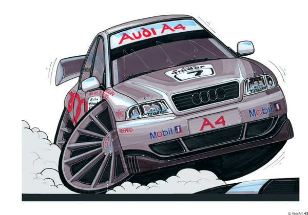 Audi A4 Rally Sport Grise