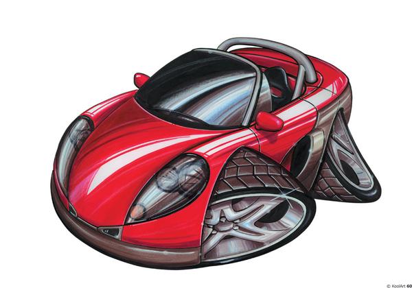 Renault Spyder Sport Rouge