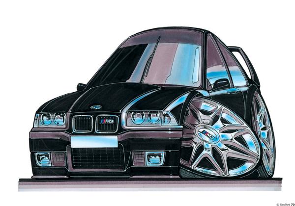 BMW M3 E36 Noire