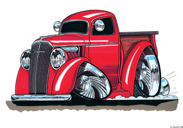 Chevrolet Pickup Rouge