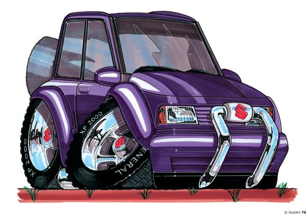Suzuki Vitara Violette