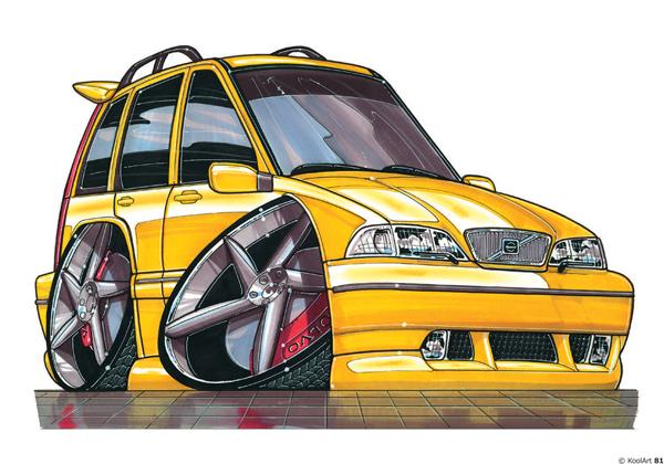 Volvo T5 Jaune
