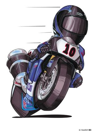 Suzuki MotoGP Grand Prix Bleue
