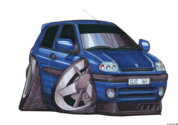 Renault Clio 2 Bleue
