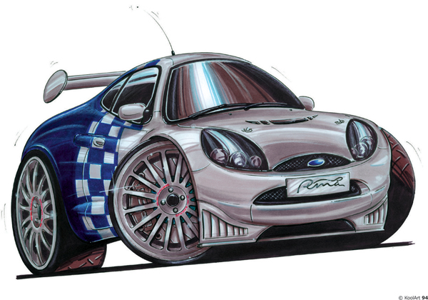 Ford Puma Rally Grise