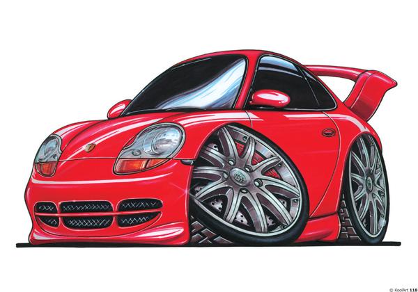 Porsche 911 GT3 Rouge