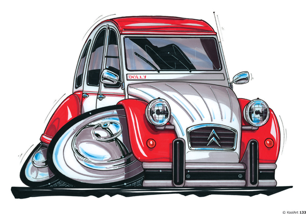 Citroen Dolly 2CV Rouge