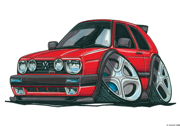 Volkswagen Golf GTI Rouge