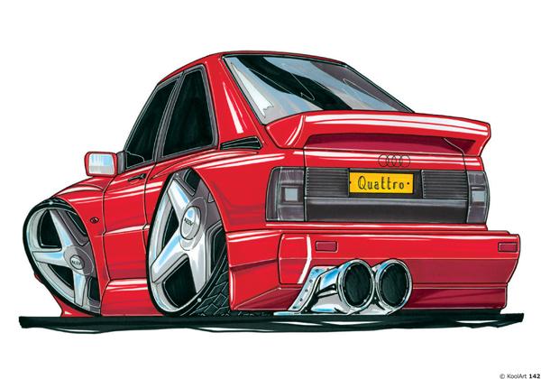 Audi Quattro Sport Rouge
