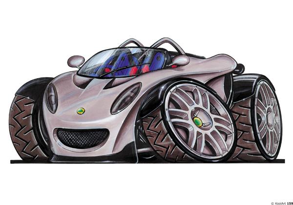 Lotus Concept Car Grise