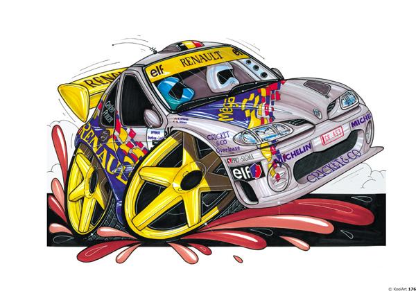 Renault Megane rallyeeee Grise