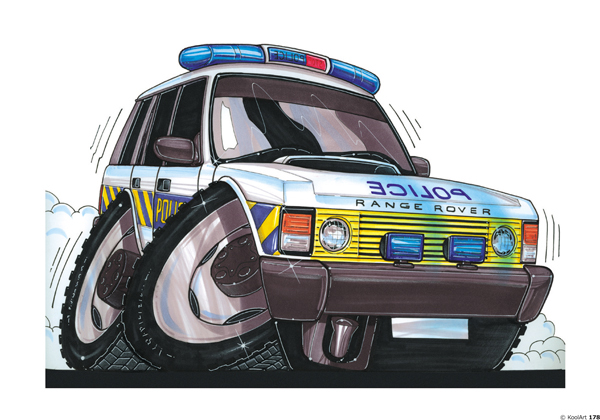 Land Rover Range Police