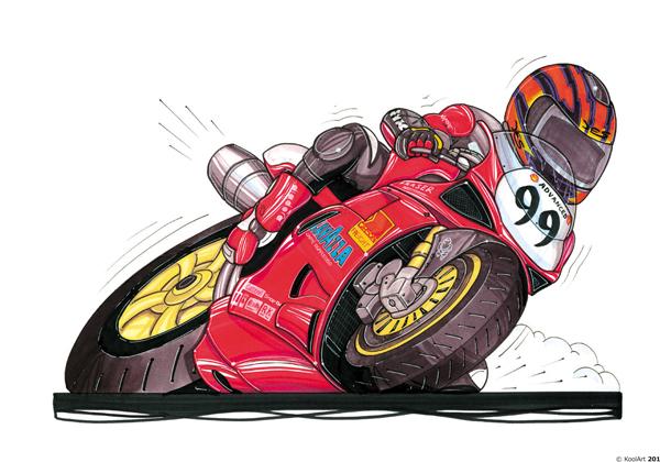 Ducati 916 Moto Rouge
