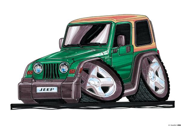 Jeep Wrangler 4X4 Vert