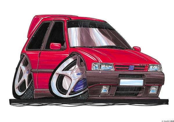 Fiat Uno Rouge