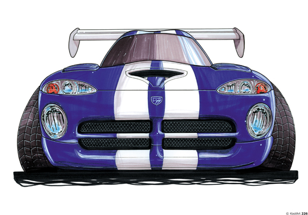 Dodge Viper Violette Face