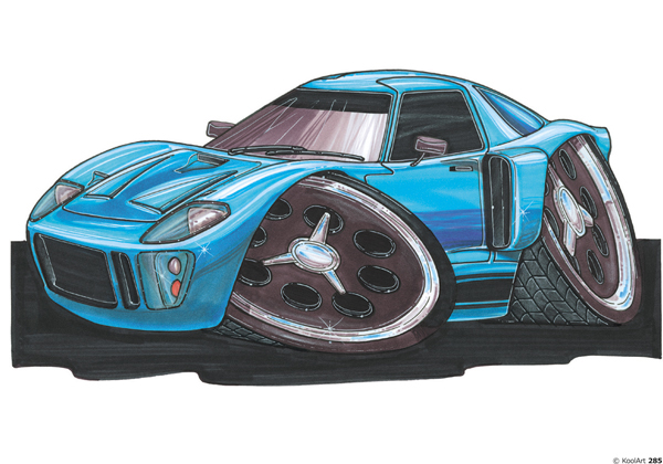 Ford GT40 Sport Bleue