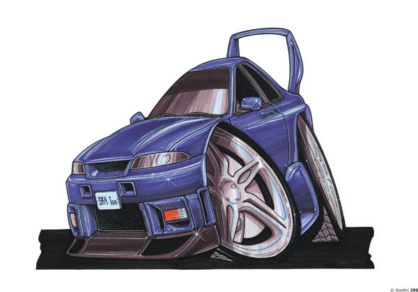 Nissan Skyline GTS Sport Bleue