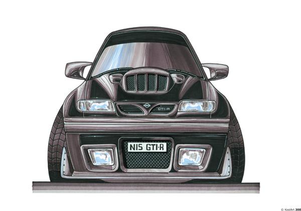 Nissan Sunny GTI R Noire