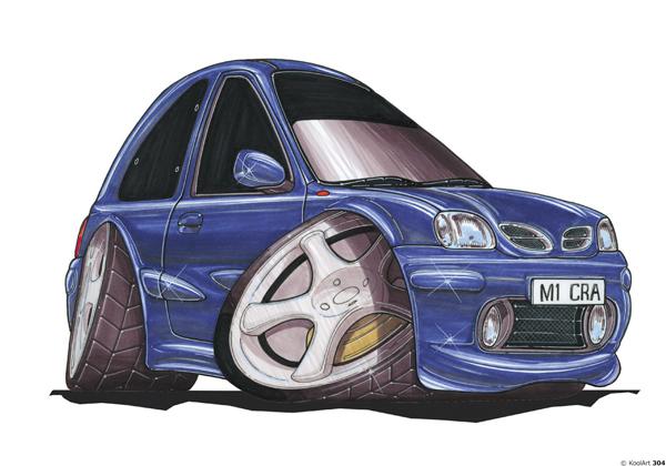 Nissan Micra Bleue