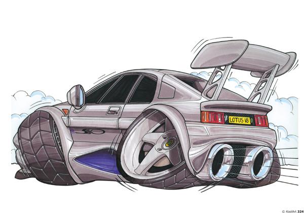 Lotus Esprit Sport Grise