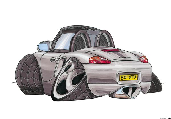 Porsche Boxster Cabriolet Grise