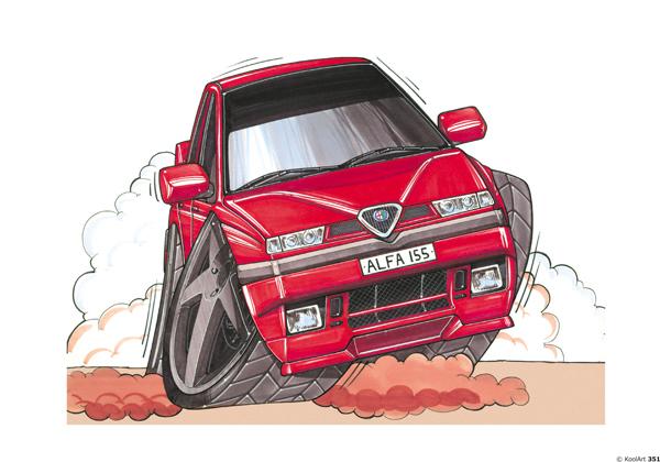 Alfa Roméo 155 Rouge