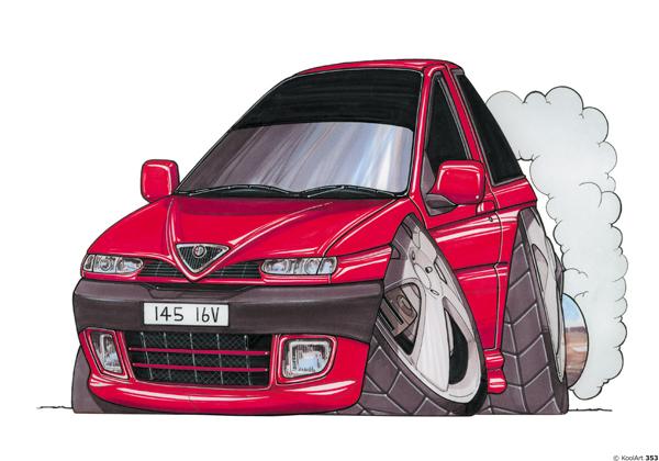 Alfa Roméo 145 Rouge