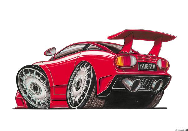 Bugatti EB110 Sport Rouge