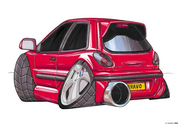 Fiat Bravo Rouge