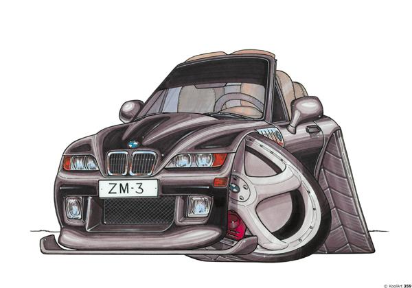 BMW 3 Décapotable Noire