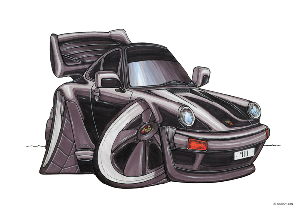 Porsche 911 Noire