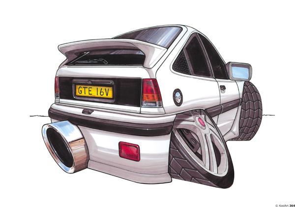 Opel Kadette Blanche