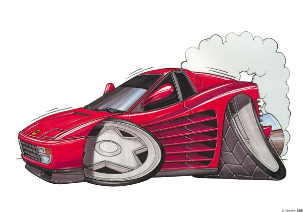 Ferrari Testarossa Sport Rouge