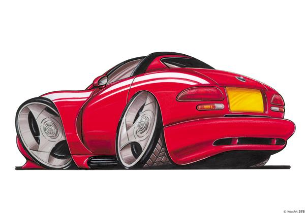 Dodge Viper Sport Rouge