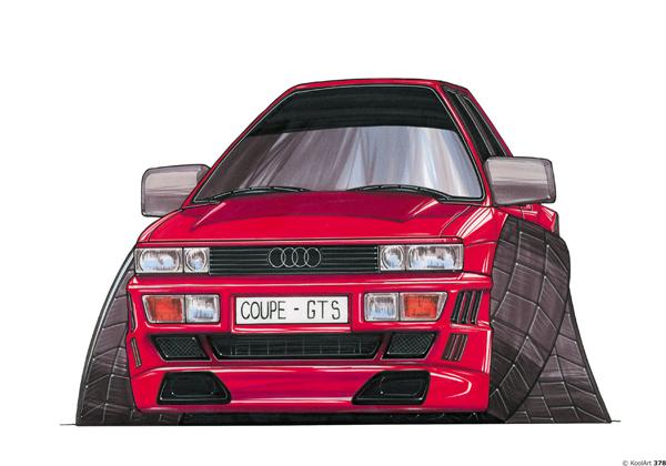 Audi Coupée GT Rouge