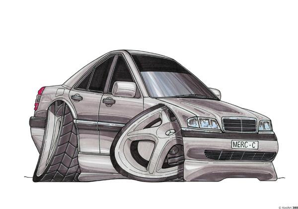Mercedes Classe C Grise