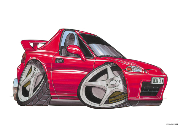 Honda Civic Targa Rouge