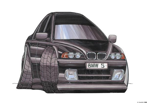 BMW Serie 5 Noire