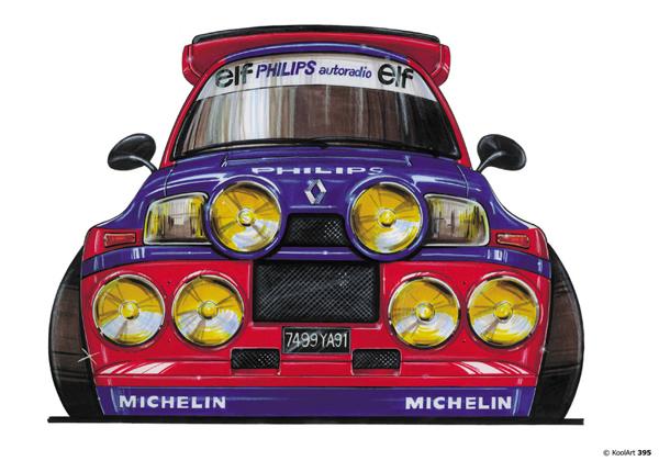 Renault 5 Turbo Rallye