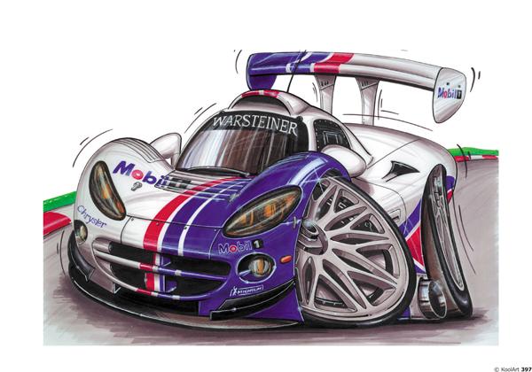 Chrysler F1 Racer Blanche