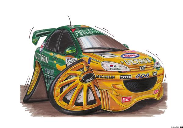 Peugeot 406 Rallye Verte