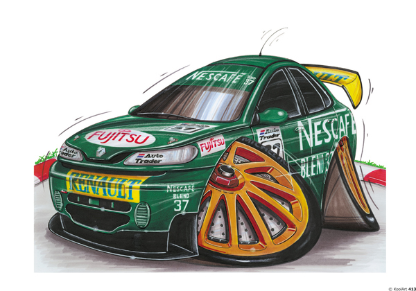 Renault Laguna Rallye Verte