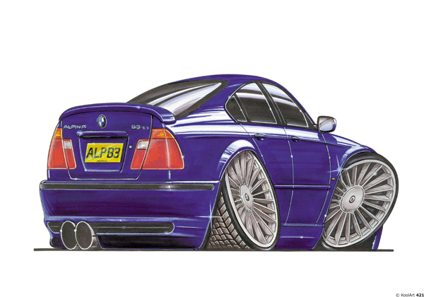 BMW Alpina Bleue