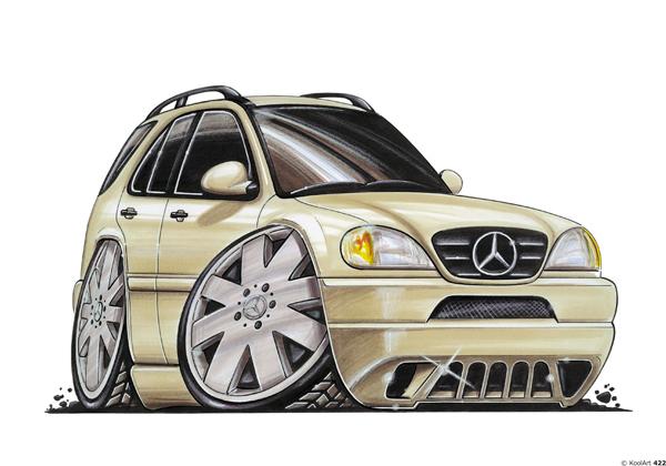 Mercedes Classe M Beige