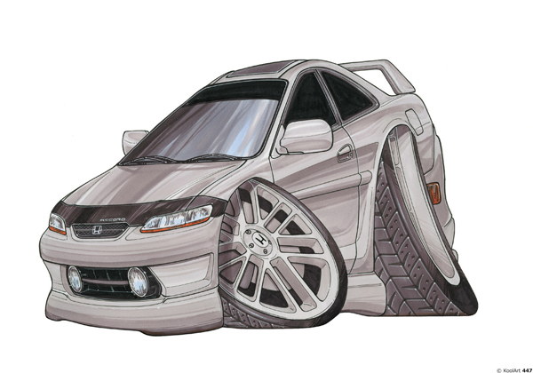 Honda Accord 3P Grise